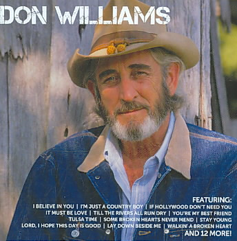ICON:DON WILLIAMS BY WILLIAMS,DON (CD)