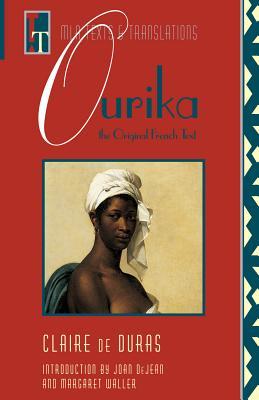 Ourika By Duras, Claire De/ Dejean, Joan E. (EDT)/ Dejean, Joan E.